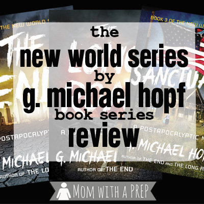 It's the New World ... and I'm feeling CONFLICTED! A End of the Word series by G. Michael Hopf book review + exciting news about the new Conflicted Card Series based on the books! // Mom with a PREP