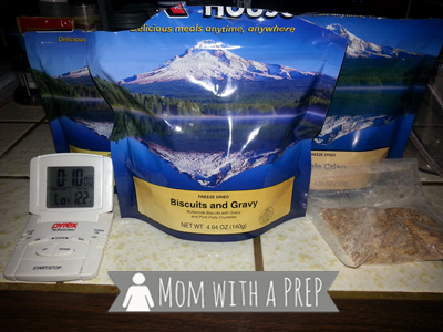 Mom with a PREP | How to Use a Mountain House Freeze-Dried Pouch