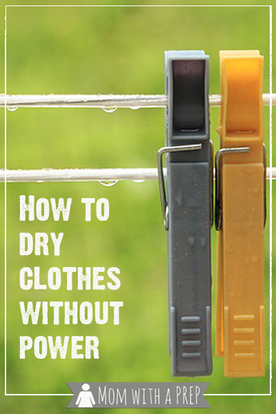 how to dry your clothes without power mom with a prep. Black Bedroom Furniture Sets. Home Design Ideas