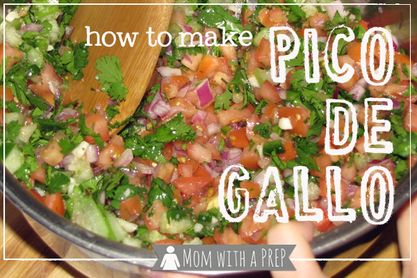 Mom with a PREP | Taking advantage of your garden bounty with Pico de Gallo. You've got to give it a try-o. Even if you're from Ohi-o