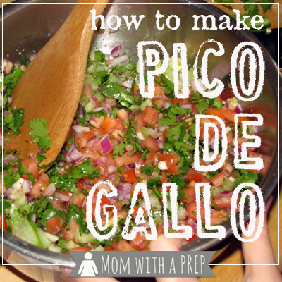 Get Your Kids in the Kitchen and Make Your Own Pico de Gallo