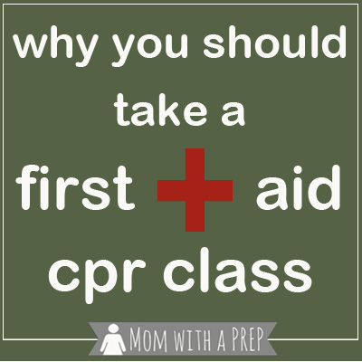 In your journey to become more PREPared for whatever life throws at you, take a CPR/First Aid class to help save a life!