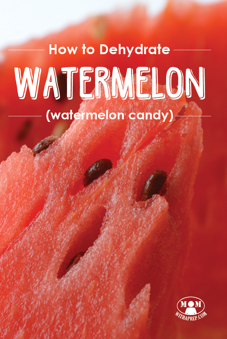 Overloaded with the yummy goodness of watermelon this summer? Learn to make watermelon candy! (dehydrated watermelon)
