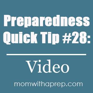 Preparedness Quick Tip #28: Create a Home Inventory