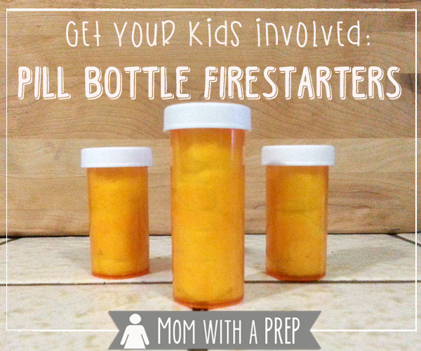 Pill Bottle Firestarters | Uses for Empty Pill Bottles Around the House | DIY Projects