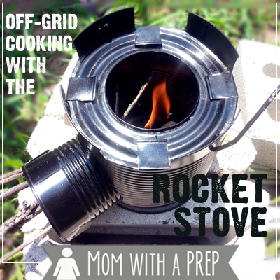 Off-grid Cooking with the Rocket Stove