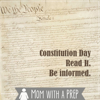 Constitution Day. Be Informed.