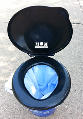 Create an emergency or camping toilet that works for both emergency preparedness and camping or long distance road trips! Easy to follow directions and it's cheap!