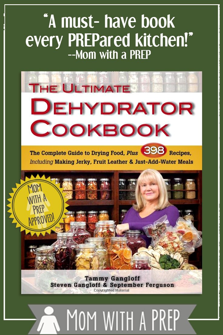 The Ultimate Dehydrator Cookbook - a must-have for every PREPared kitchen. Want to know how to dehydrate it? Read this book!