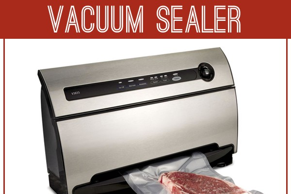 If you think your vacuum sealer is good for only freezign foods.....think again!