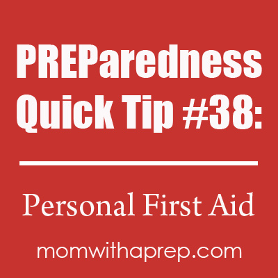 Are you prone to injury or back pain or sports injuries? It would be smart to carry things in your car or emergency kit for those injuries that may not be major, but life-changing at the moment. Preparedness Quick Tips @ Mom with a PREP