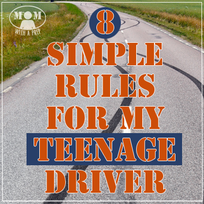 8 Simple Rules for My Teenage Driver