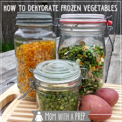 Want a quick, easy way to get started with your dehydrator? This is a no-fail way - How to dehydrate frozen vegetables!