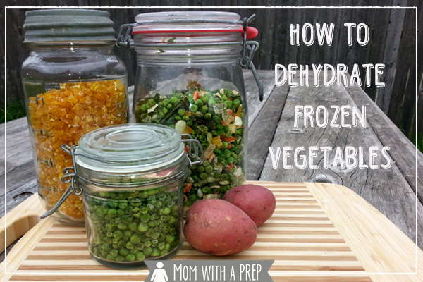 dehydrate frozen vegetables