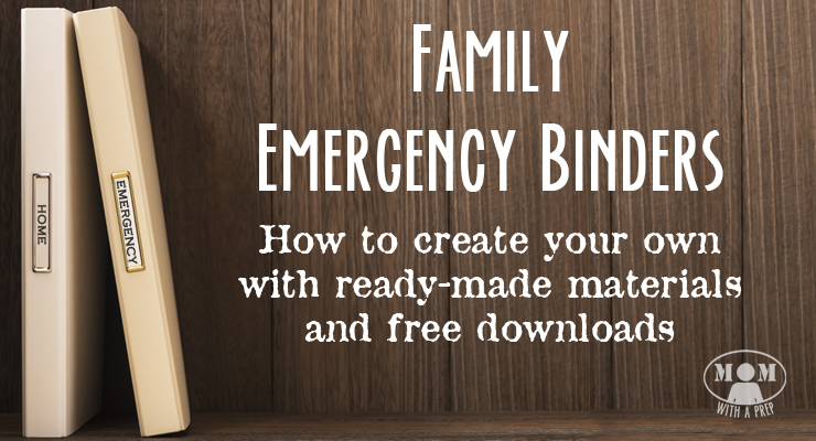 Create a Family Emergency Binder or a Grab and Go binder to help your family track and plan for emergencies. Never be without the most important information you have to save your family in an emergency.