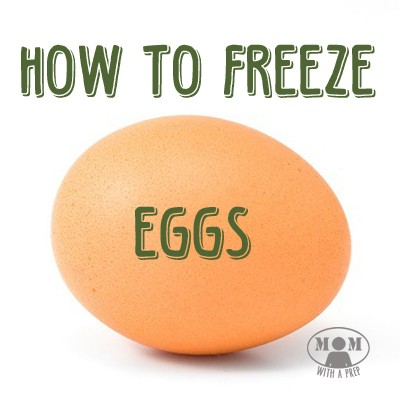 Did you know that you can actually freeze eggs? Seriously! There are a few ways that may work for you, it just takes a little trial and error to determine the best way for your needs. Find out how @ Momwithaprep.com