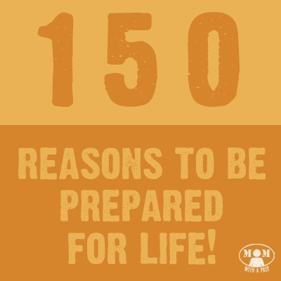 Do you need just a little boost to help you become better prepared for life's big and small emergencies? How about 150 of them? Come hear the stories from this group of women about why preparedness is so important to them @ Momwithaprep