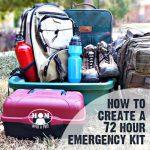Create a 72 Hour Emergency Kit for those times when you need to grab a bag and go! @ Momwithaprep.com #beprepared #NatlPrep #30daysofprep #30days30ways