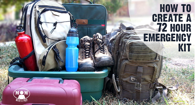 Create A 72 Hour Emergency Kit For Those Times When You Need To Grab Bag