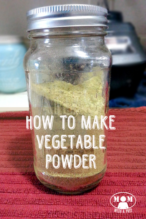 What can you do with those leftover bits of vegetables sitting in your fridge? Or what about that little bit of dehydrated vegetable at bottom of your mason jar? You don't want to throw out all that goodness...but what can you do with it? Why...make vegetable powder, of course! I'll show you how at MomwithaPREP!