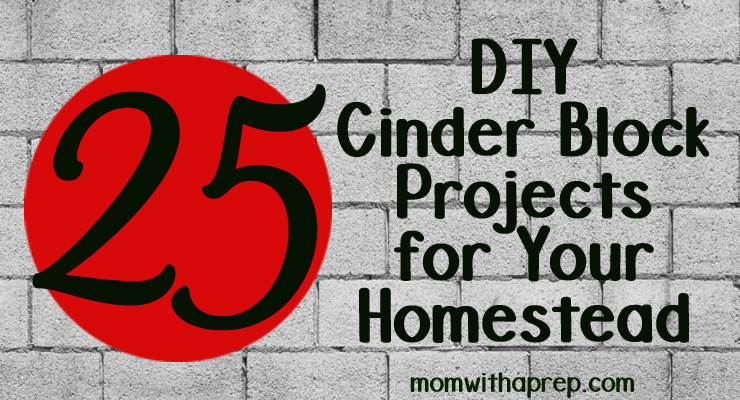 25+ DIY Cinder Block Projects for Your Home @ Momwithaprep.com