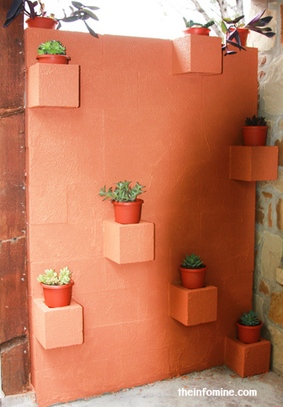 25+ DIY Cinder Block Projects for Your Home @ Momwithaprep.com | Project from TheInfoMine
