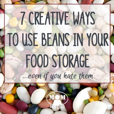 I HATE BEANS! But even I admit that it's time to incorporate them into my food storage and learn to use them in alternative ways that stretch the budget AND provide a healthy alternative for our family. 7 Creative Ways to Use Beans...even if you hate them @ Momwithaprep.com