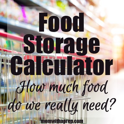 How much food will we need?! And how am I supposed to cook all that?! An intro into food storage calculators at MomwithaPREP.com