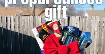 What's the ultimate gift you can get for your family and friends? A PREParedness gift, that's what! Find out how to make this Emergency Prepared Bucket that's prefect for Christmas, newlyweds and kids moving away from home at Momwithaprep.com