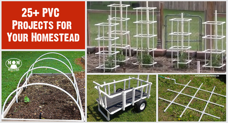 25 pvc projects for your homestead or backyard that you for Diy pvc projects