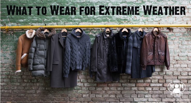 Dressing yourself for extreme weather can get a little tricky. Here are some tips to help dress appropriately for the seasons.