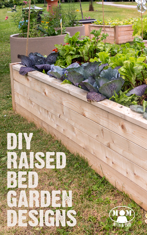 ... Garden Design With DIY Raised Bed Garden Designs And Ideas Mom With A  PREP With Fuschia