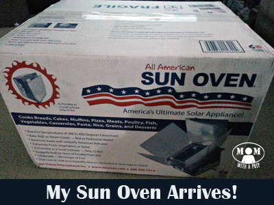 Sun Oven - a great way to practice off grid cooking skills using only the power of the sun -- and get great cookies to boot!