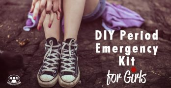 DIY Period Emergency Kit for Girls