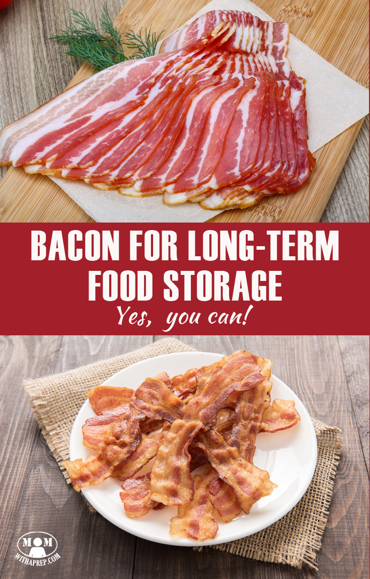 Can I store bacon in the pantry? Can you really use bacon for long-term food storage? The answer is quite simple: yes you can! Here are the food storage options for bacon lovers ...