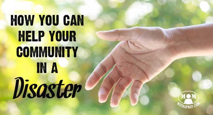 When disaster strikes your community, don't sit idly by while waiting for emergency response teams to act? You can volunteer to help your community!