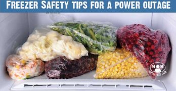 What do you do when with your freezer when there's a power outage? Mom with a PREP shares some great tips - one of which might be to eat all the ice cream first!
