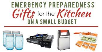 Preparedness Gifts for the Kitchen under $25