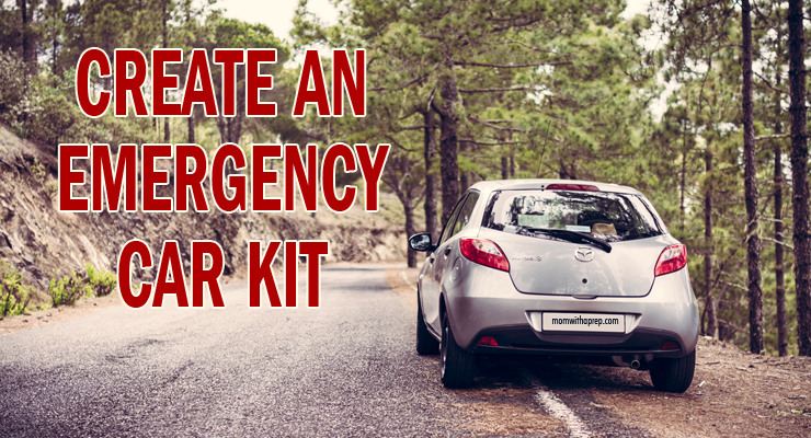 Create an Emergency Car Kit for your car to prevent being stranded without supplies during breakdowns or bad weather.