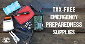 Tax Free Emergency Preparedness Supplies