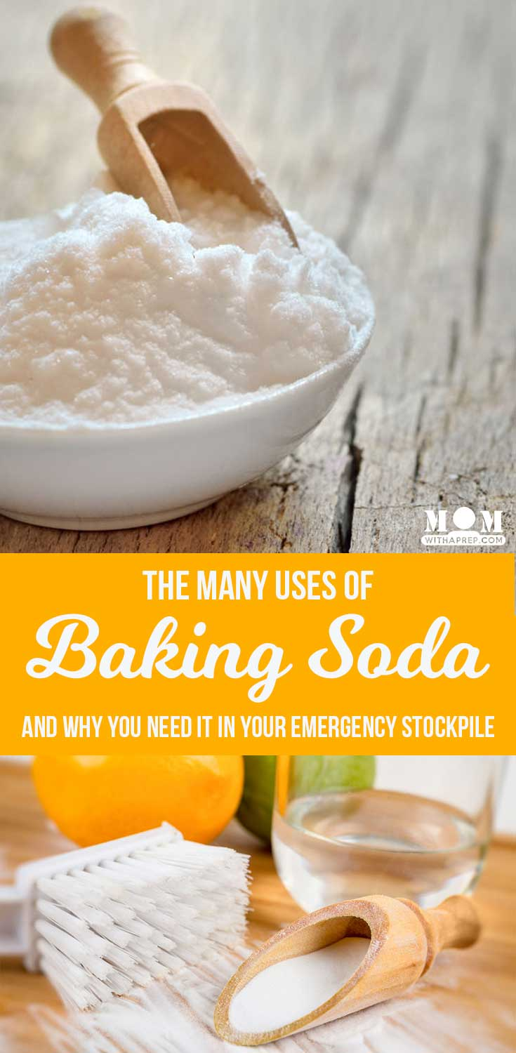 Uses for baking soda and why we need to add it to our emergency preparedness stockpiles!