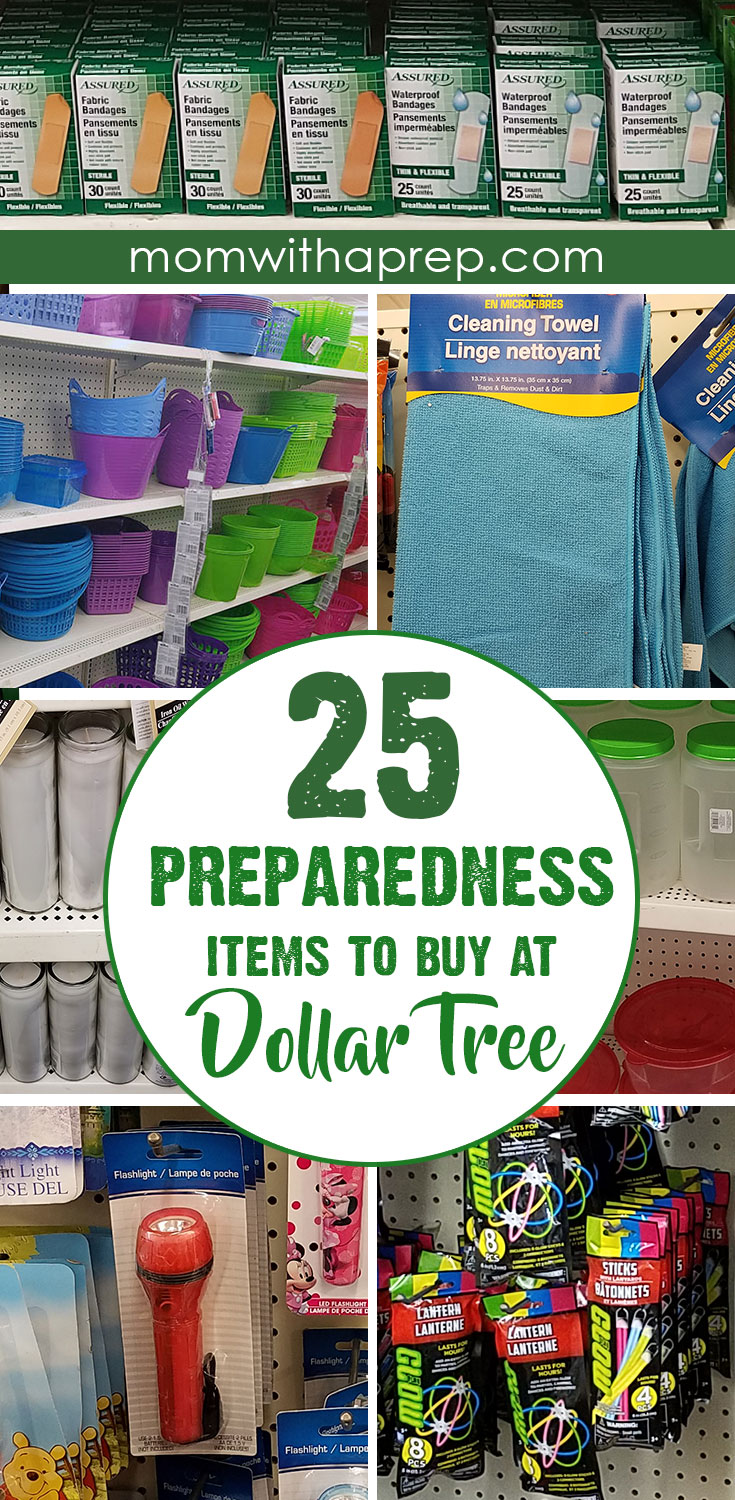 Favorite Dollar Tree Preparedness Items to stock emergency kits and home