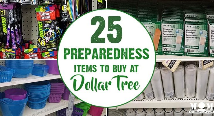 25 Favorite Preparedness Items at Dollar Tree