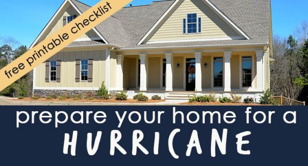 Don't wait for a weatherman to tell you it's time to prepare for a hurricane. Take matters into your own hands and get your family and home prepared!
