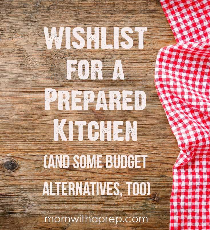 Preparedness Kitchen Tool Wislhlist | Gift Guide
