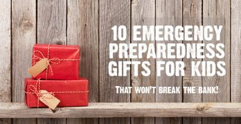 10 Emergency Preparedness Gift Ideas for Kids that Won't Break the Bank