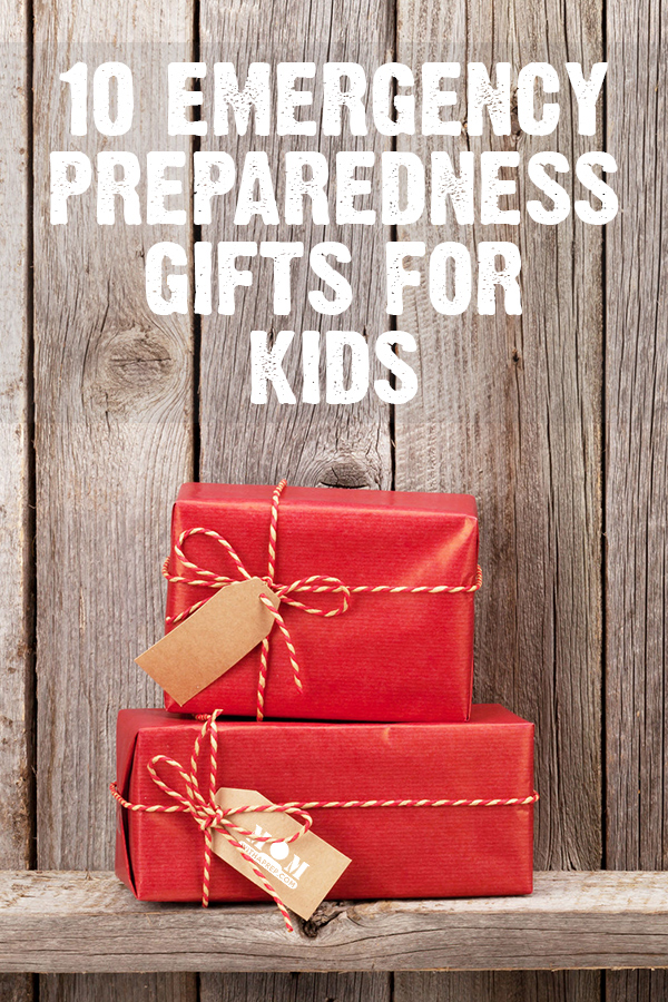 Building an emergency kit for kids can be daunting, but here are some great emergency preparedness gift ideas to spark an interest in emergency preparedness for your kids ... without breaking the bank!