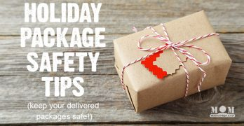 holiday package delivery safety tips | keep packages safe from thieves