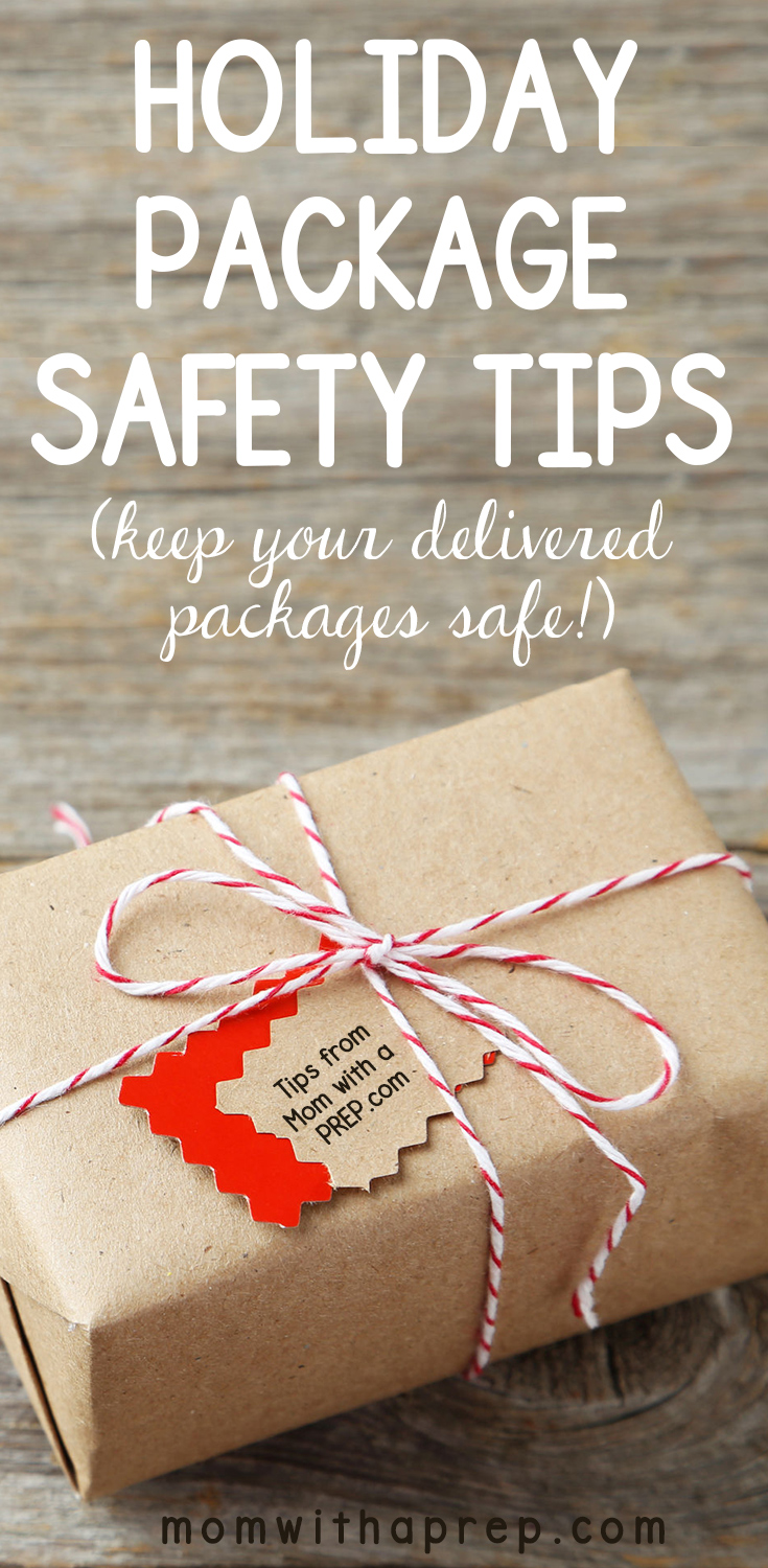 Holiday Package Delivery Safety Tips -- keep those gifts from the heart safe from thieves during the holiday season and anytime during the year! Don't let Christmas holidays be ruined by thieves, protect your deliveries!