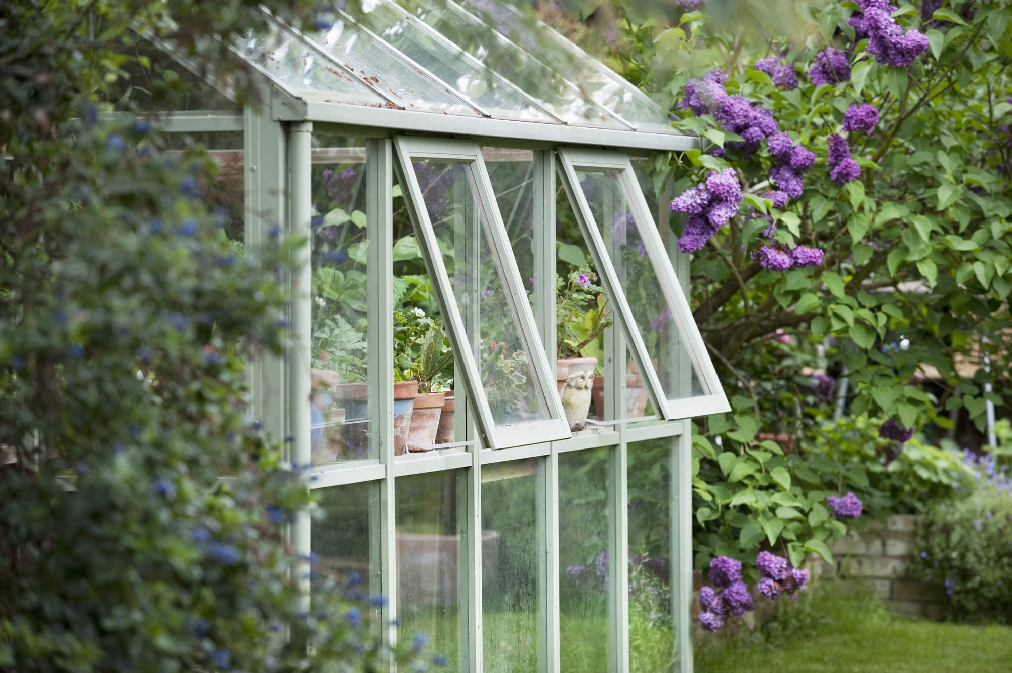 Building an Attached Greenhouse Should be Your Next Gardening Obsession